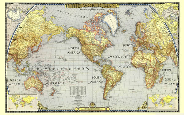 Daily Planet - World Map